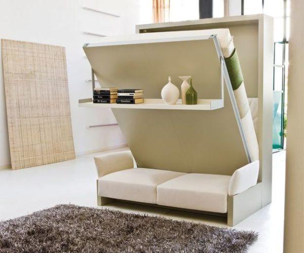 Мебель-трансформер - отличное решение для малогабаритной квартиры