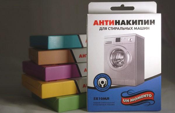 Средства для чистки стиральных машин изготавливают на основе хлора или других веществ