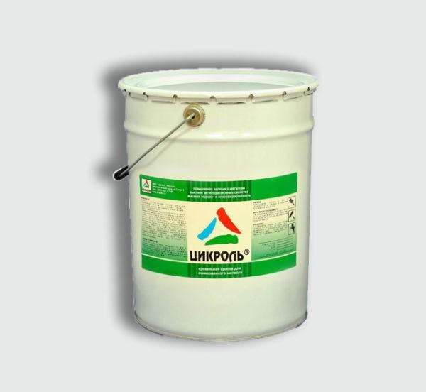 Высококачественная антикоррозионная грунт-эмаль на основе акриловых смол с полимерными добавками в органических растворителях