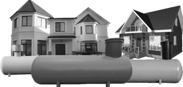 Газгольдер совершенно безопасен для домашнего использования