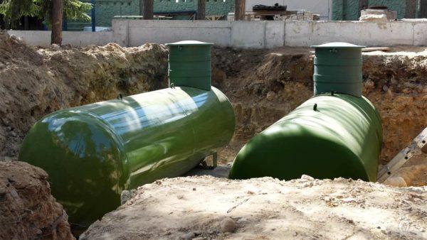 Горизонтальные подземные газгольдеры