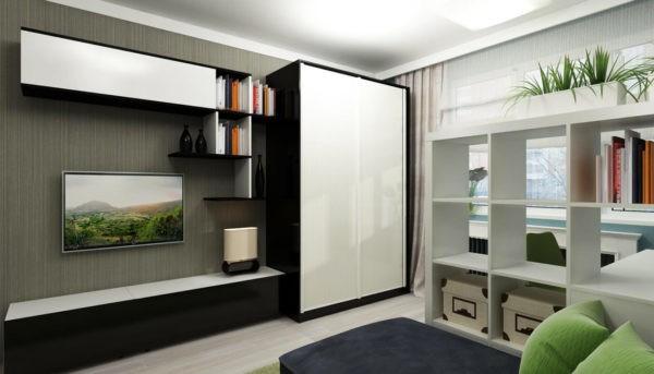 Дизайн функционального интерьера с удобной организацией мест хранения