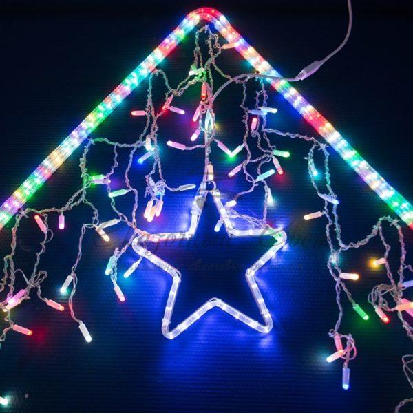 Дюралайт LED, свечение с динамикой