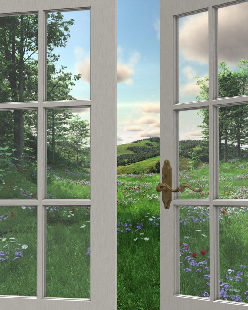 Если окна выходят на юг, в помещениях будет теплее в течение всего года