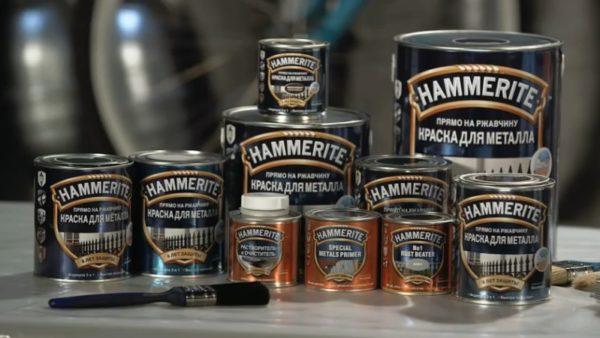 Краски Hammerite