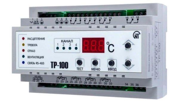 Модель цифрового теплового реле