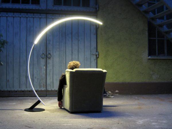 Напольный светодиодный торшер