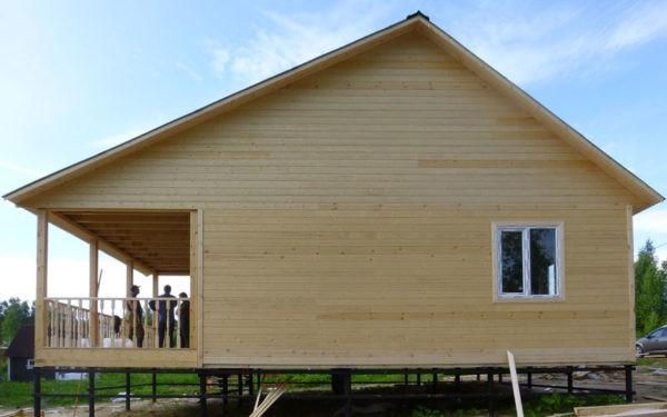 Одноэтажный дом 8х10