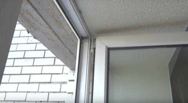 Окно открыто на 90 градусов