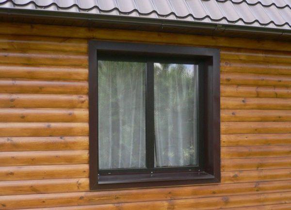 Откосы на окна снаружи из пластика