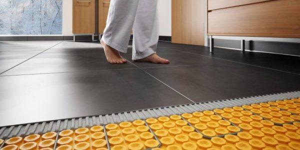 Плиточный клей не должен изолировать систему подогрева, понижать ее эффективность