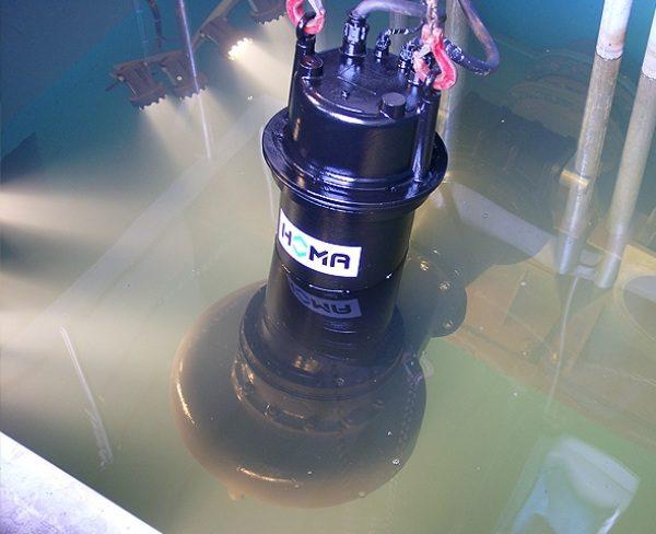 Погружной насос для грязной воды