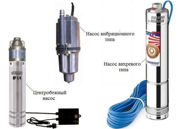 Разновидности погружных насосов для скважин