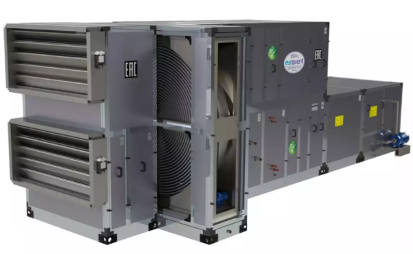 Роторные рекуператоры отличаются большим КПД по сравнению с пластинчатыми