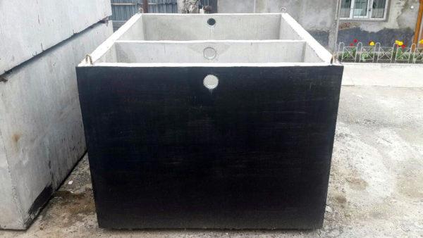 Септик бетонный монолитный с гидроизоляцией