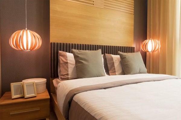 Современный прикроватный подвесной светильник