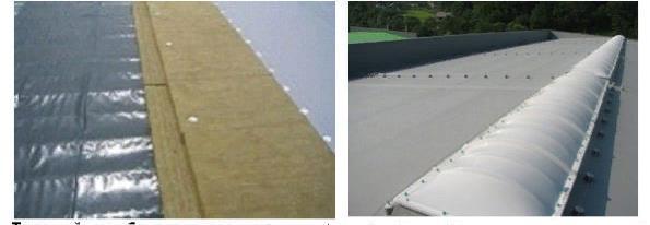 ТПО-полотна фиксируют крепежными элементами или планками из алюминия