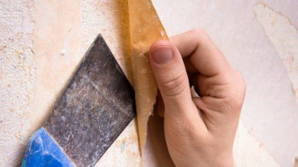 Удалить со стен обычные бумажные обои не трудно