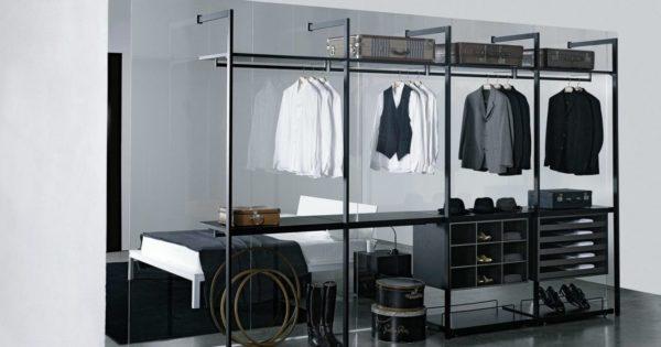 Ультрасовременная гардеробная комната