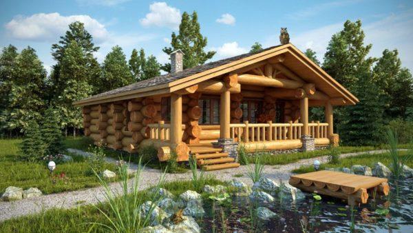 У деревянной бани множество преимуществ перед кирпичной, блочной или сделанной из сэндвич-панелей