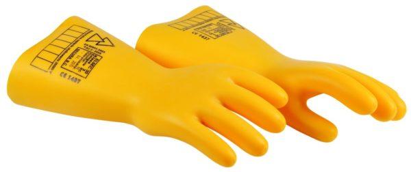 Перчатки резиновые для работы с электричеством