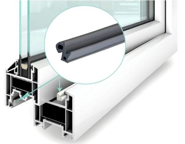 Эффективный уплотнитель – обязательная часть конструкции современного пластикового окна