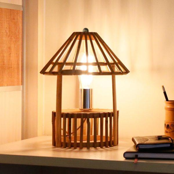 Японская настольная лампа