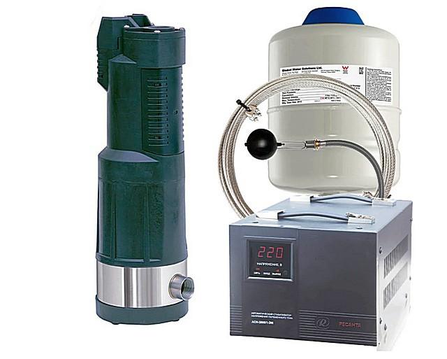 Некоторые компании – продавцы насосного оборудования сразу предлагают своим клиентам комплекты, включающие и стабилизатор напряжения.