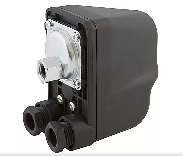 Весьма популярное реле давления «Belamos PS-02C», которое можно настроить для работы системы с максимальным напором до 5 атмосфер.
