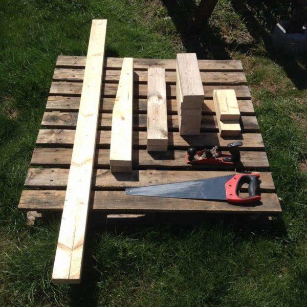 Завершаем подготовку комплектующих нашей скамейки