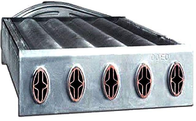 Характерное строение каналов битермального теплообменника