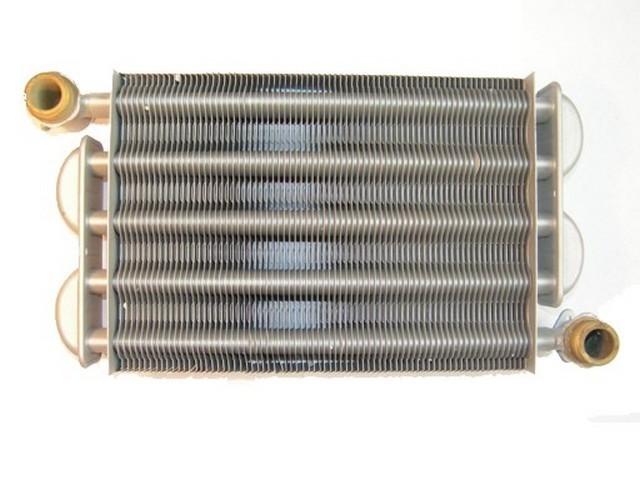 Первичный теплообменник – нагревает теплоноситель системы отопления