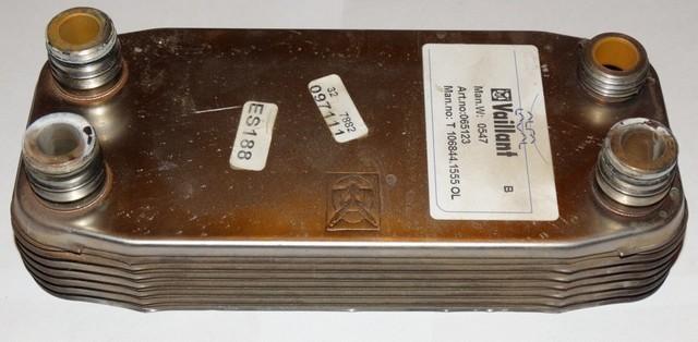 Вторичный теплообменник – работает в интересах ГВС