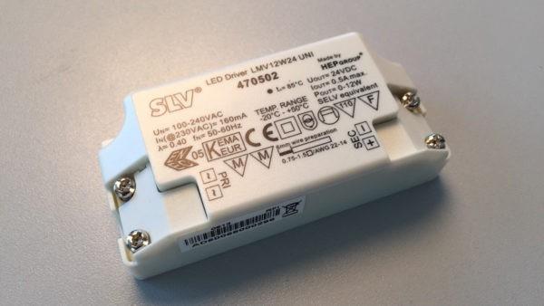 Драйвер (LED Driver) 24V DC (постоянного тока) для светодиодных светильников/ламп