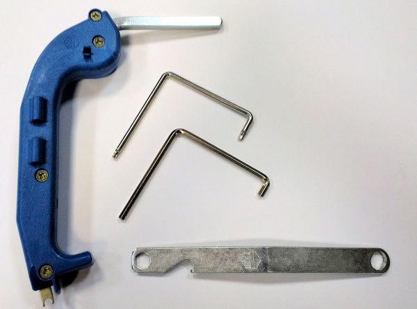 Ключи для регулировки оконной фурнитуры