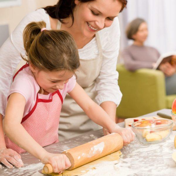 Приятнее всего готовить еду в чистой и проветренной кухне