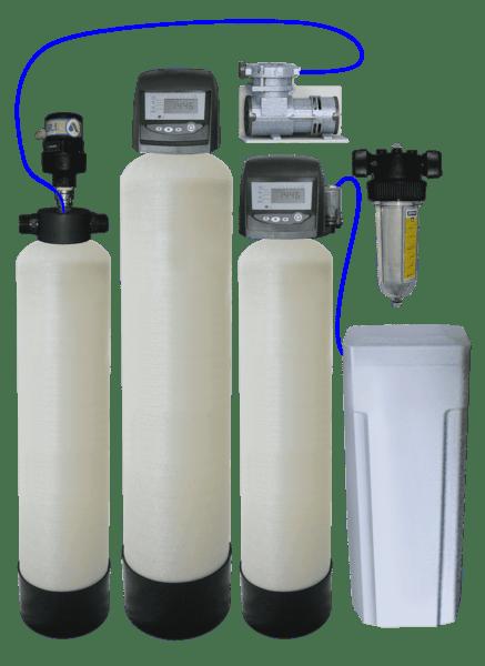 Колонна для обезжелезивания воды