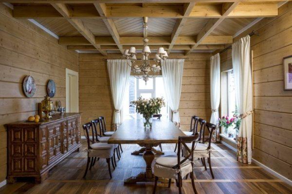 Внутренний дизайн в русском стиле