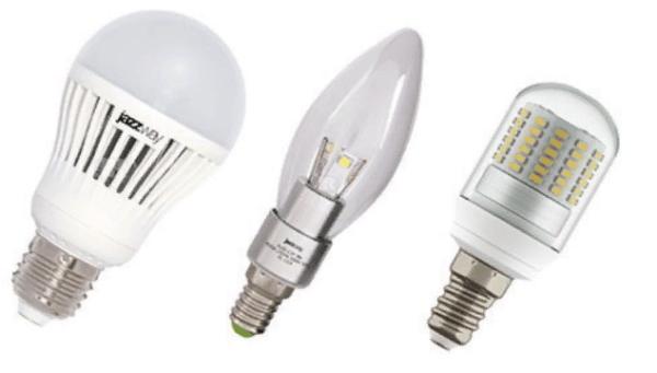 Светодиодные лампы экономичны и долговечны