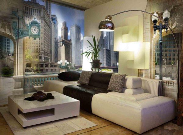 Город в квартире