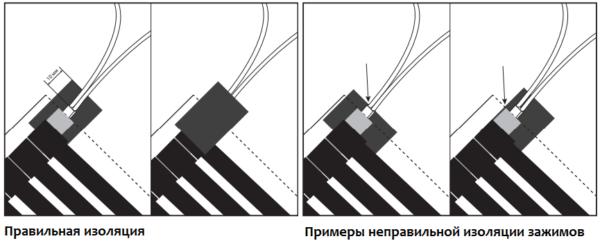Изоляция электрических соединений