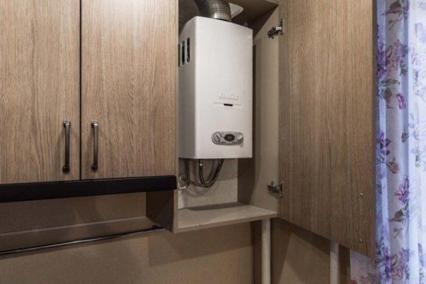 Кухонный шкаф – отличное место для накопителя
