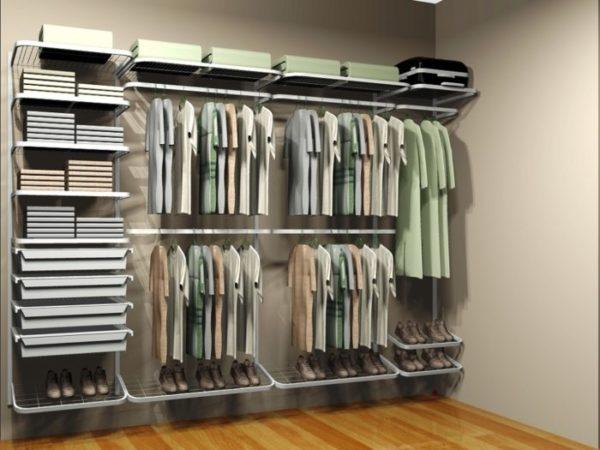 Гардеробные системы хранения привлекают людей тем, что они легкие, изящные, способные органично вписаться в любой дизайн и интерьер помещения