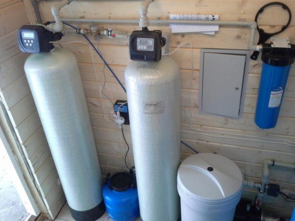 Система очистки воды в загородном коттедже