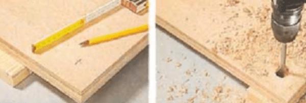 Сверление отверстий под шпильки