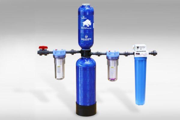 Система последовательной очистки воды
