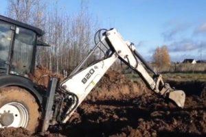 Шаг 2 – производство земляных работ