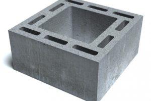 Дымоходные бетонные блоки