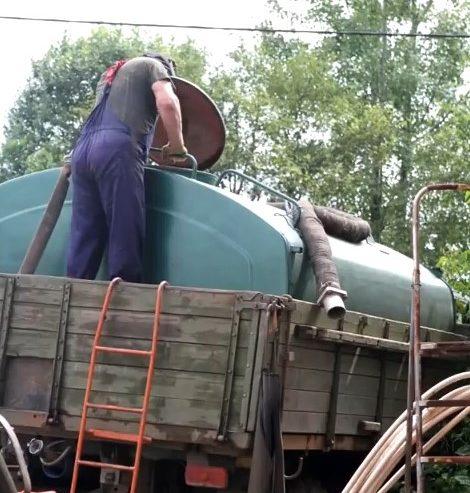 Вода для промывки