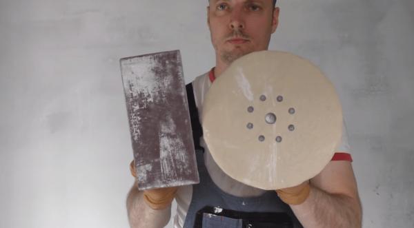 Инструмент для зачистки после шпаклевания
